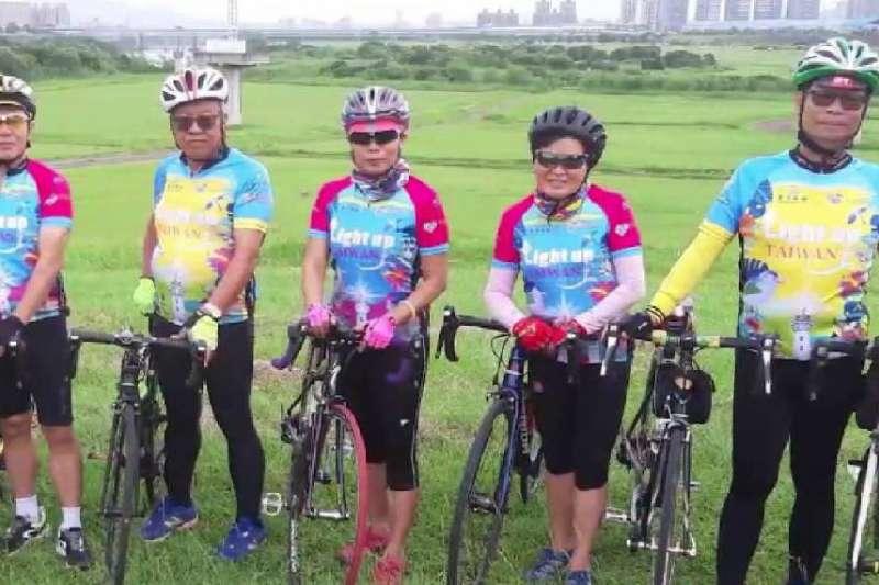「吾癌無礙」活動癌友騎車環島,來到高雄市後,就感受到高雄人的熱情。(圖/議員黃柏霖提供)