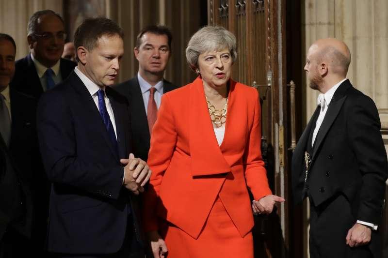 英國前首相梅伊(Theresa May)(AP)