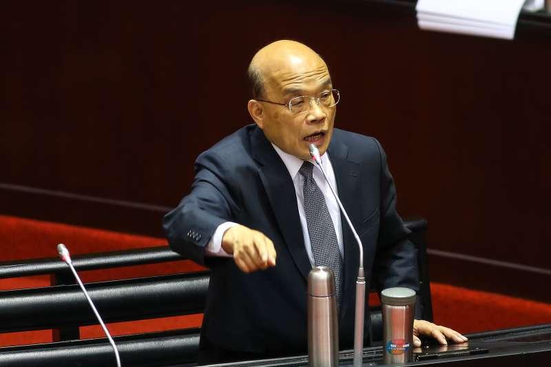 劉性仁觀點:蘇貞昌應有行政院長的高度及風度 -風傳媒