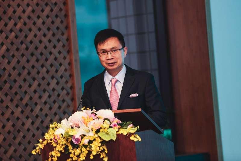 20191025-中華民國對外貿易發展協會董事長黃志芳25日與馬紹爾群島商務投資暨觀光辦公室簽署合作備忘錄。(簡必丞攝)