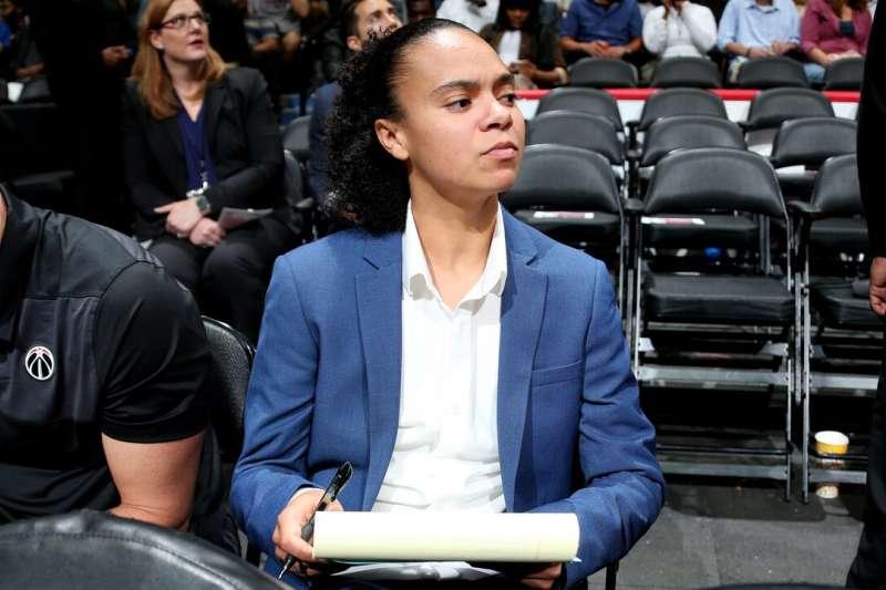 克莉絲蒂目前還是WNBA現役球員。(取自NBA官網)