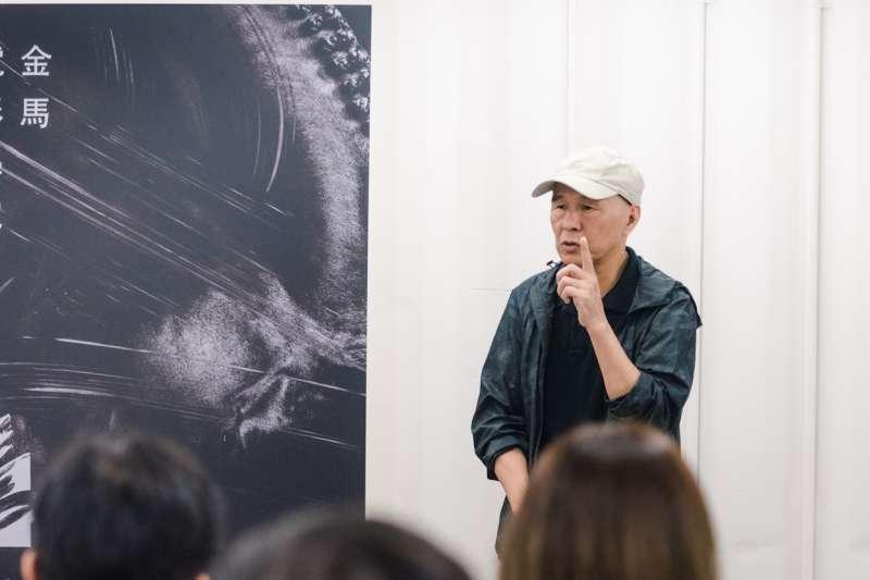 侯孝賢(見圖)2009年時擔任金馬執委會主席,憑著一股衝勁創辦了金馬電影學院。(資料照,金馬執委會提供)