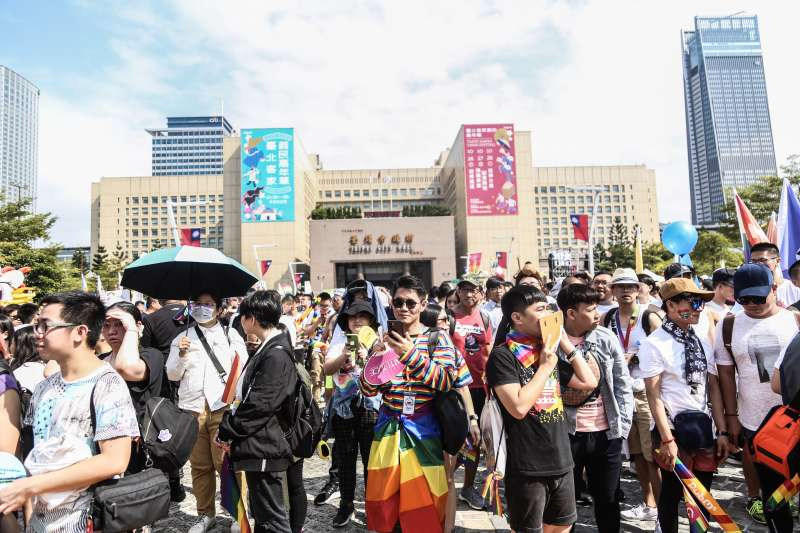 20191026-「同志好厝邊 Together, Make Taiwan Better」同志遊行。(簡必丞攝)