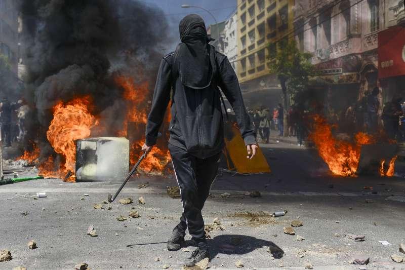2019年10月,南美洲大國智利發生動亂(AP)