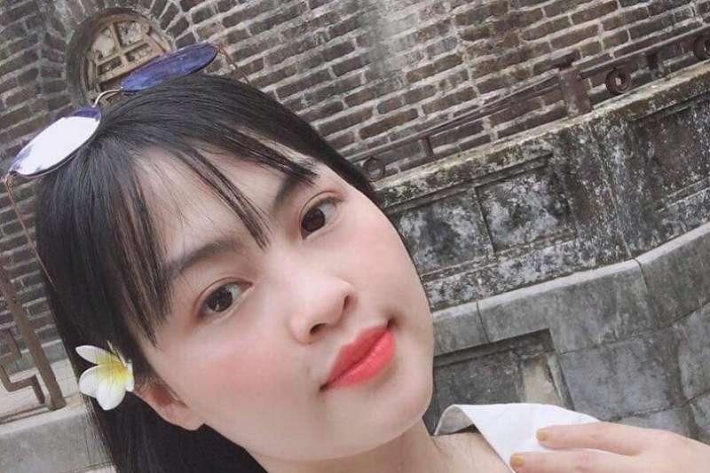 英國艾塞克斯郡破獲冷凍貨櫃車上有39位凍死非法移民。越南人權組織公布,26歲的范氏茶美疑似在死前傳訊告別。(Hoa Nghiem經家屬同意發布)