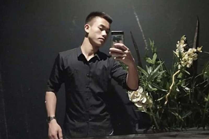 2019年10月,英國「屍速貨櫃車」慘案,疑似罹難的越南偷渡客阮庭良(Nguyen Dinh Luong,音譯)(AP)