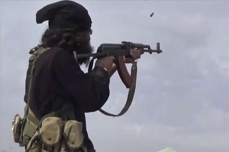 伊斯蘭國戰士(AP)