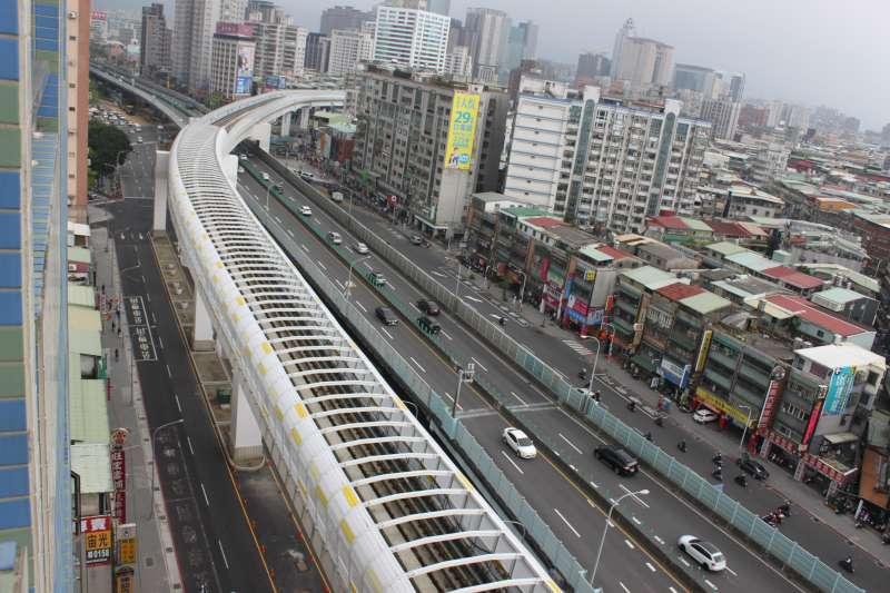 捷運環狀線讓通勤更省時:從頭前庄站至景安站,實測比繞經台北市快19分鐘!(圖片來源:新北市捷運局)