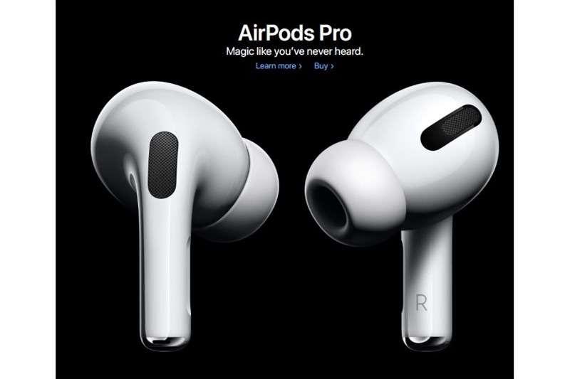 蘋果AirPods越賣越貴,圖為最新款Airpods Pro無線耳機。(圖片來源:蘋果官網)