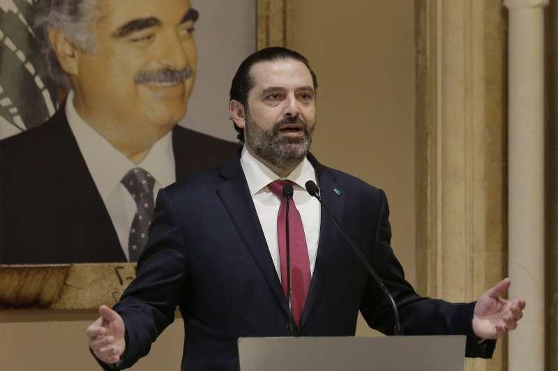 黎巴嫩示威,黎巴嫩總理哈里里宣布下台。(資料照,AP)