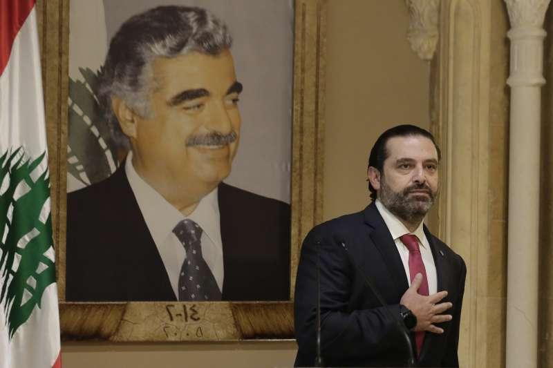 黎巴嫩示威:黎巴嫩總理哈里里宣布下台(AP)