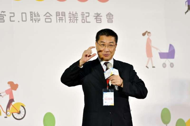 內政部長徐國勇宣布社宅包租代管邁入2.0,落實居住正義。(圖/內政部提供)