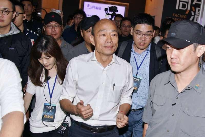 韓國瑜任北農總經理中午才出現?曾為花販的議員這樣說-風傳媒