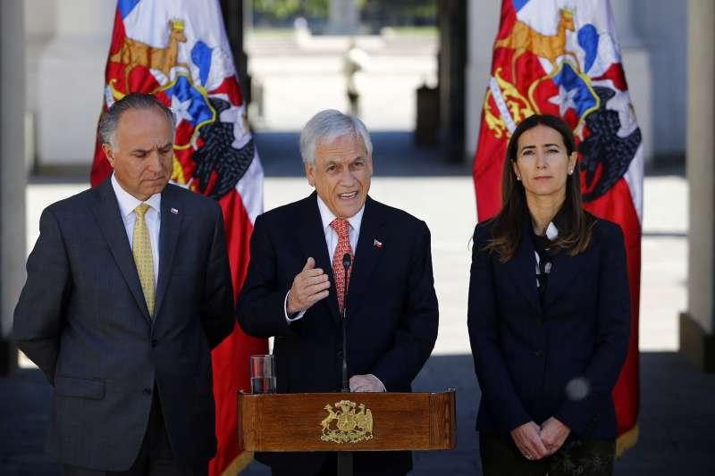 智利總統皮涅拉宣布取消主辦APEC和COP 25峰會(AP)