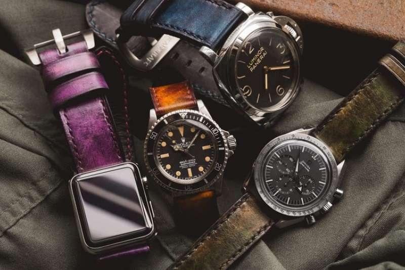 錶帶能改變手錶的形象、氣質,是玩錶人必備的配件。(圖/沃坦粉絲頁)