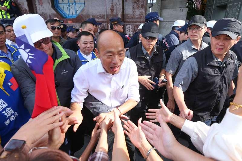11月中有機會打平!韓辦揭內部民調:韓國瑜只落後蔡英文6個百分點-風傳媒