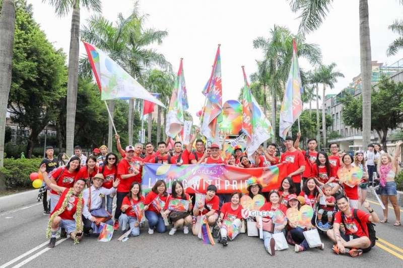 今年吉立亞成為台灣同志遊行的官方贊助商,便是與「多元共融」的企業核心價值相呼應。