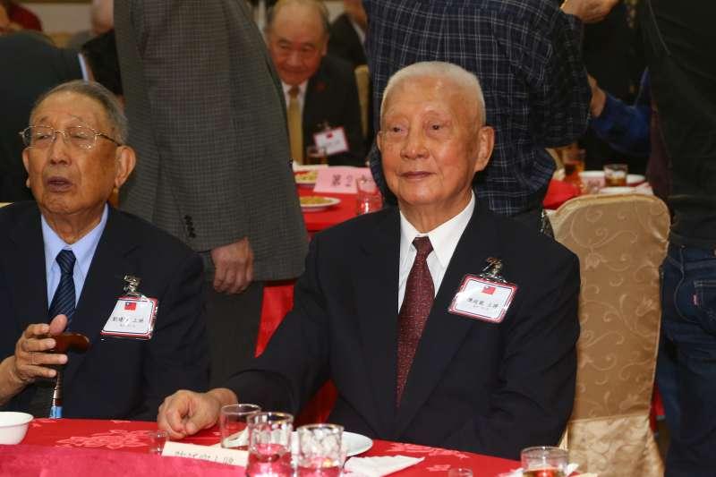 20191102-退役將領陳廷寵2日出席北部地區退休將領團結自強聯誼會。(顏麟宇攝)