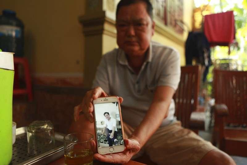 阮文洪的父親稱愛子受人蛇集團矇騙,這才踏上這條不歸路。(AP)
