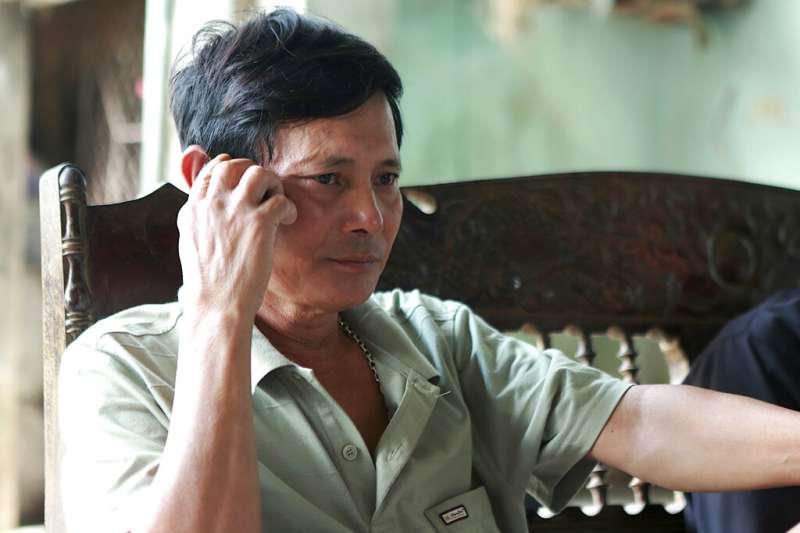 黃家人最後收到愛子的消息是在貨櫃車案爆發前一天,隨後黃文捷便音訊全無。(AP)