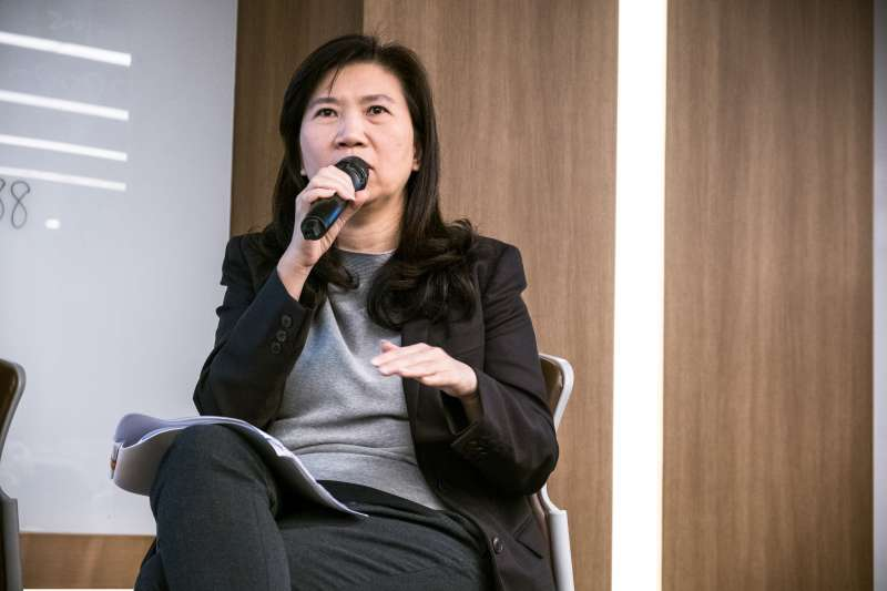 20191103-影視工作室「英雄旅程」2日舉辦論壇,對談台灣OTT產業的發展與出路。台灣大哥大新媒體服務副總經理李芃君。(英雄旅程提供)