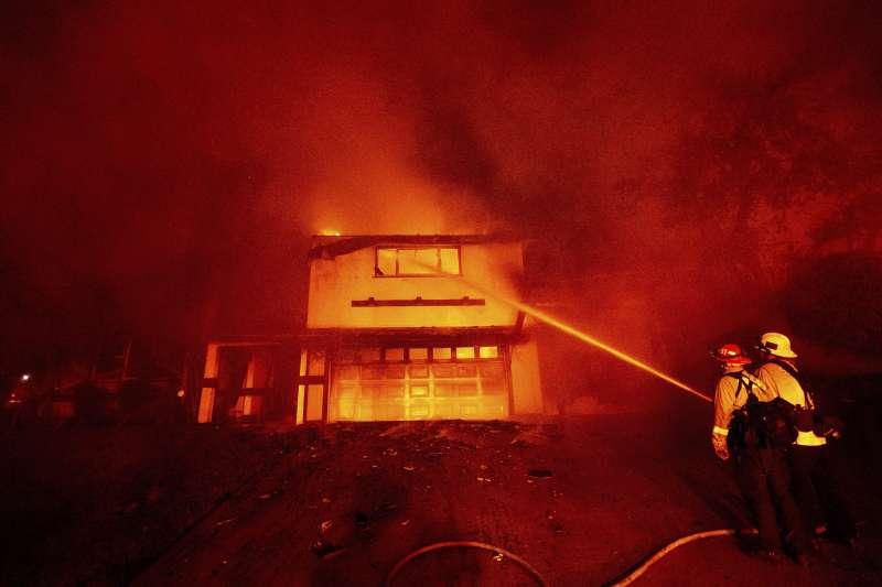 美國加州野火(AP)