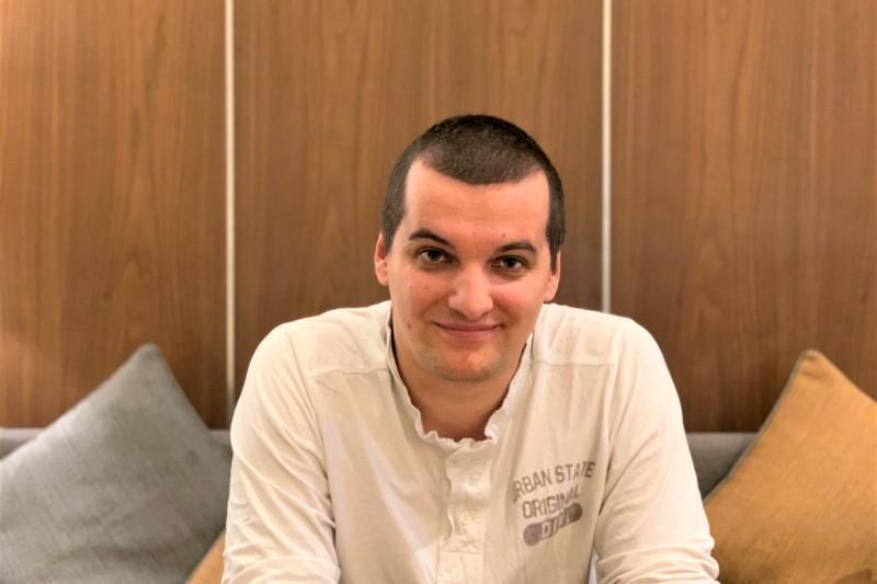 捷克資安專家楊達(Jakub Janda)(簡恒宇攝)