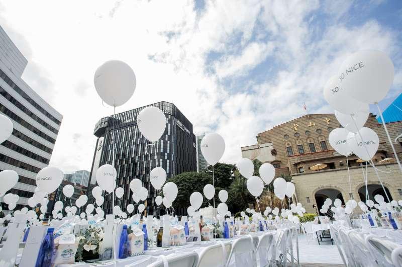 2019台北白色野餐活動,讓世界看見台北之美(圖/璐露野)