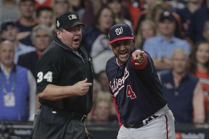 棒球好壞球爭議不斷。(美聯社)