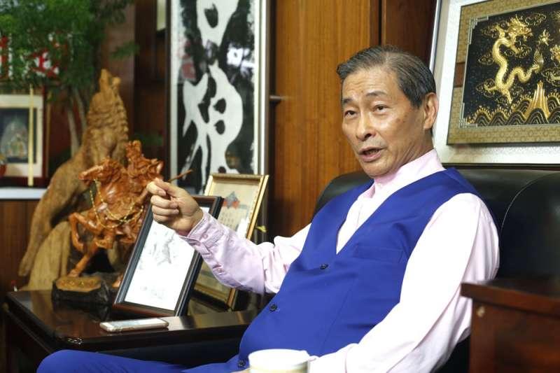 張安樂強調,他沒有接到中共授權,所以不是「代理人」只是「同路人」。(郭晉瑋攝)