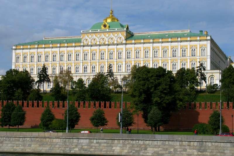 克里姆林宮為俄羅斯聯邦政府行政總部所在地。(Ed Yourdon@wikipedia/CC BY-SA 2.0)