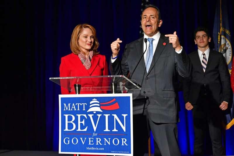 共和黨選將、肯塔基州州長貝文。(美聯社)