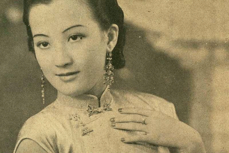 1939年的周璇(編者蔡登山提供)