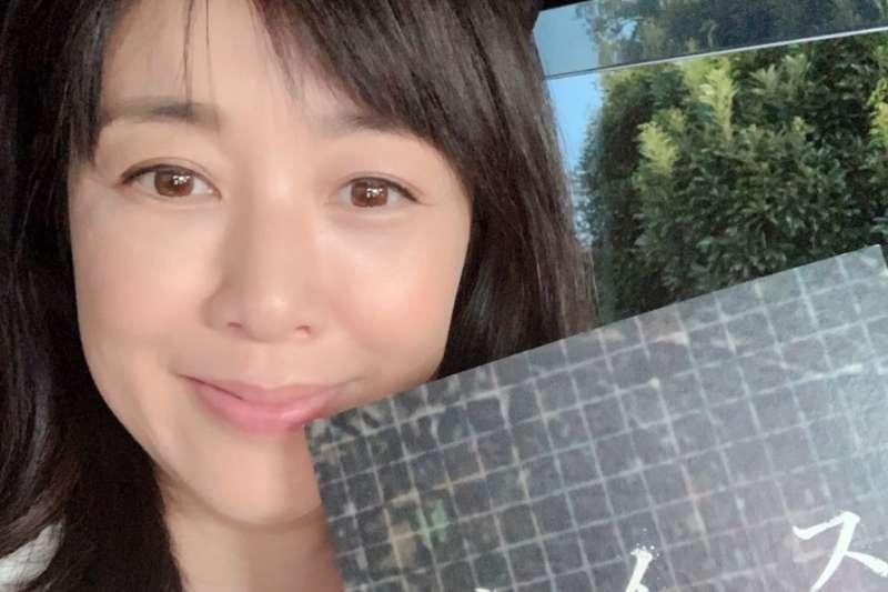 日本昔日偶像菊池桃子在個人部落格宣布再婚(圖翻攝自菊池桃子部落格)