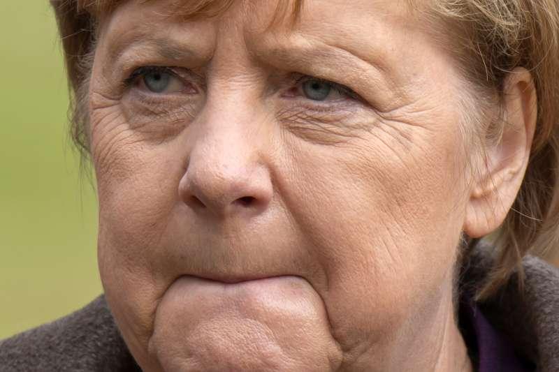 德國總理梅克爾。(AP)