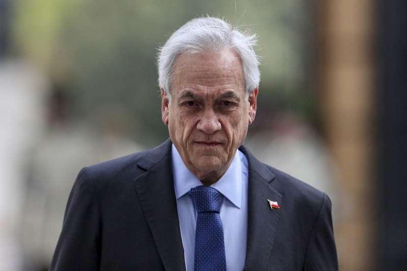 智利總統皮涅拉(Sebastian Piñera)(AP)