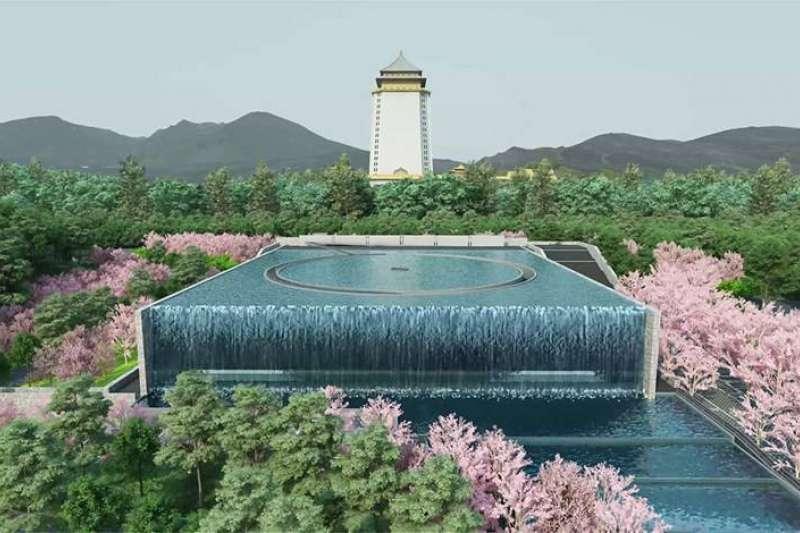 全台數座「光之系列」生命紀念館和殯儀會館,以水土保持與景觀植栽進行設計。(圖/龍嚴集團提供)
