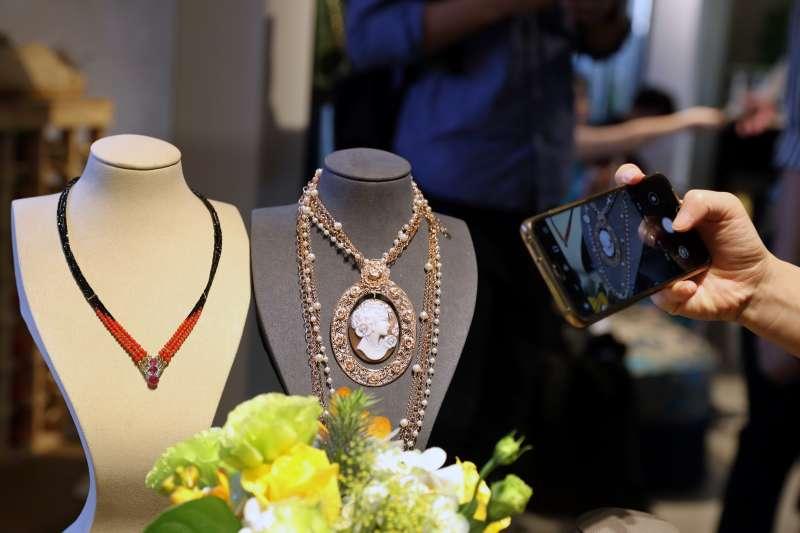 義大利珠寶將亮相第二屆進博會。(新華社)