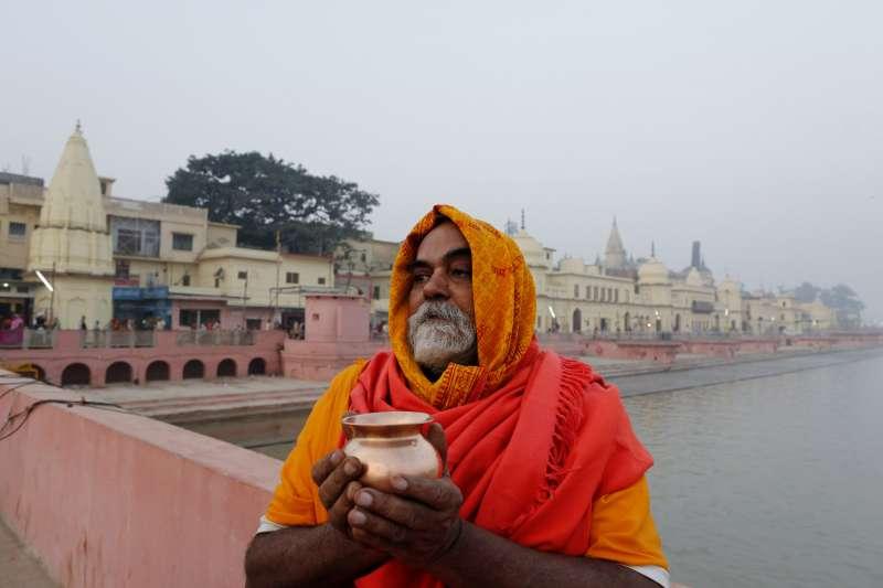 印度的印度教聖地阿約提亞(Ayodhya),也是印度教徒與穆斯林衝突的焦點(AP)