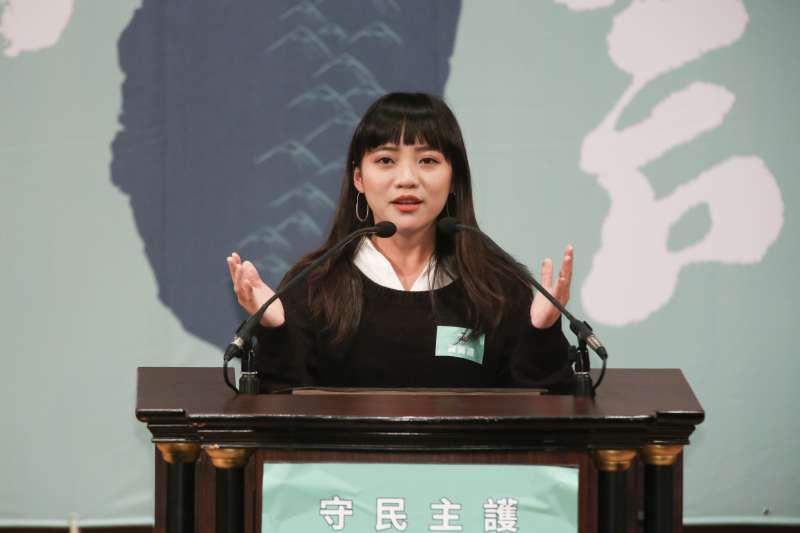 20191110-高雄市議員黃捷10日出席「守民主、護台灣」台灣大聯盟成立大會。(簡必丞攝)