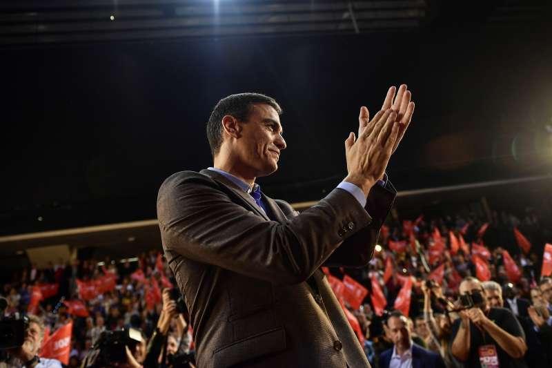 西班牙大選:總理桑切斯(Pedro Sánchez)帶領左派工人社會黨(PSOE)保住最大黨地位。(AP)