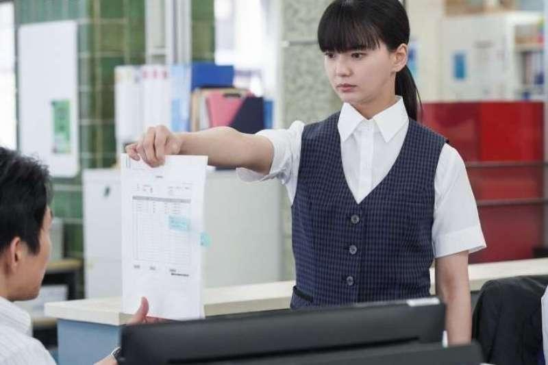 肥皂公司的會計森若沙名子,在面對同事拿來的問題發票時,總會回答:不可以報銷!(圖/NHK)