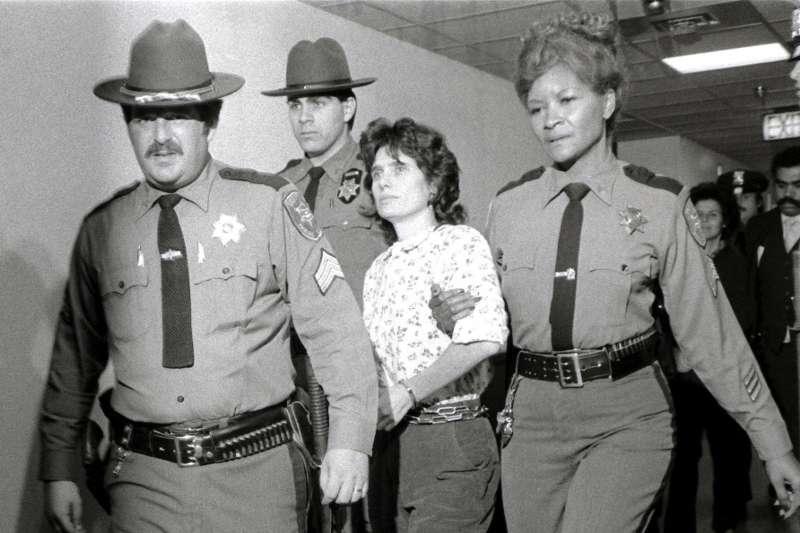 美國舊金山新任地區檢察長鮑丁(Chesa Boudin)的母親母親凱瑟琳(Katherine Boudin),攝於1981年(AP)