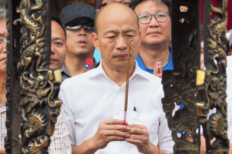 國民黨總統參選人韓國瑜購入7200萬元的台肥南港豪宅,與「庶民」形象反差太大。(林瑞慶攝)