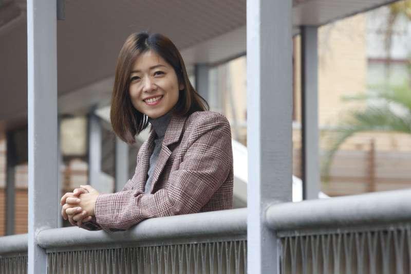 因工程師工作而在新竹結婚成家,高鈺婷自己正是許多新竹市民的縮影。(郭晉瑋攝)