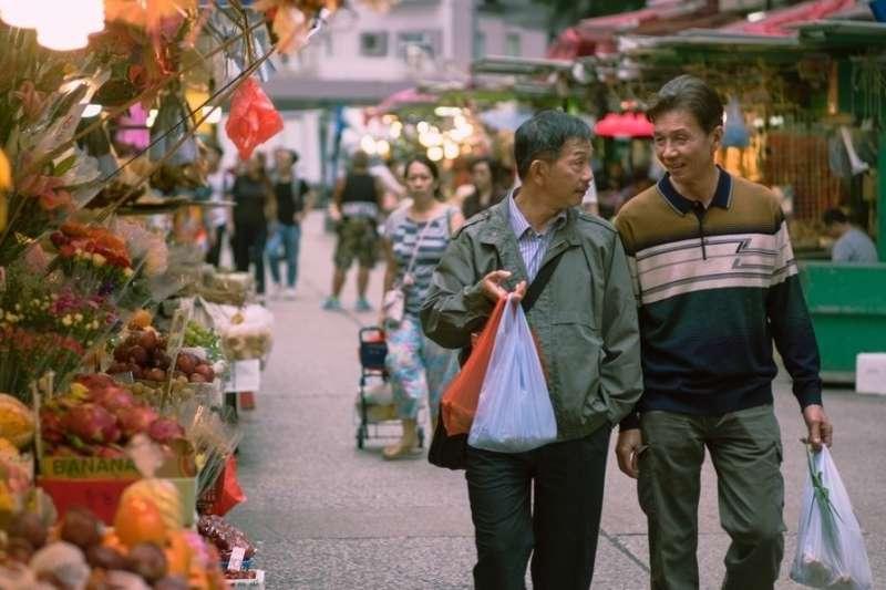 太保(右)憑藉電影《叔·叔》入圍本屆金馬獎男主角(圖/台北金馬影展)
