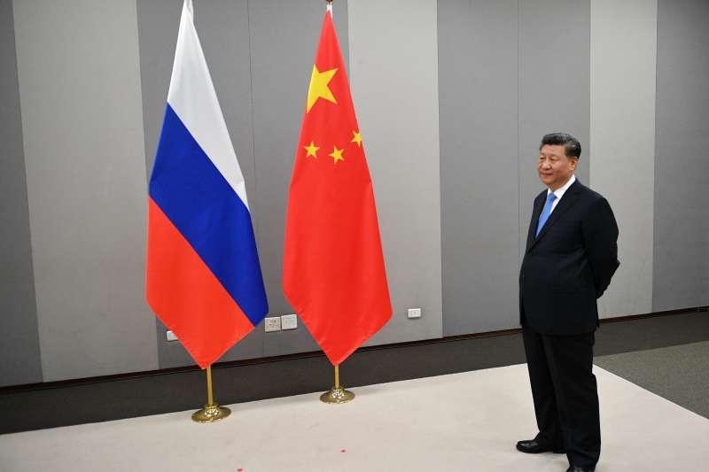 中國國家主席習近平出席第11屆金磚五國峰會(AP)