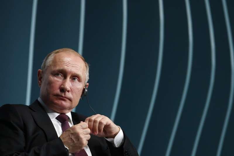 俄羅斯總統普京。(AP)