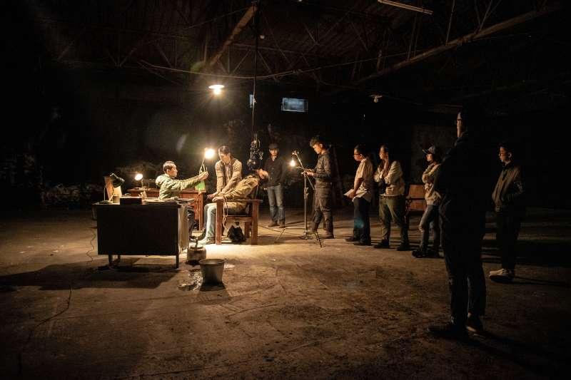 阿賴耶《惡刑循環》拍攝場景。(圖/新創總會提供)