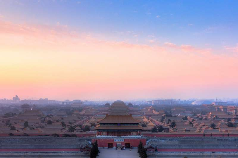 壯觀的紫禁城背後也擁有一段現代史,圖為現紫禁城。(資料照,取自維基百科)